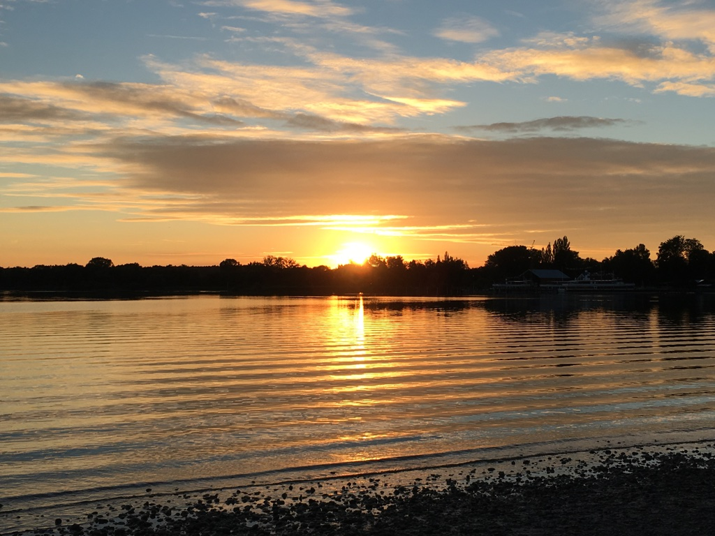 Sonnenuntergang-Ammersee